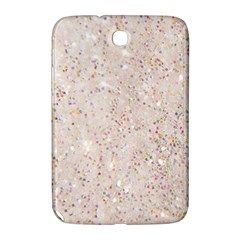 White Sparkle Glitter Pattern Samsung Galaxy Note 8 0 N5100 Hardshell Case