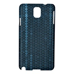 Blue Sparkly Sequin Texture Samsung Galaxy Note 3 N9005 Hardshell Case