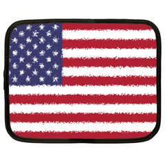 Flag Of The United States America Netbook Case (large)