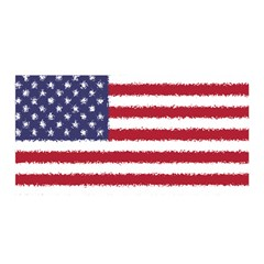 Flag Of The United States America Satin Wrap