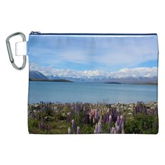 Lake Tekapo New Zealand Landscape Photography Canvas Cosmetic Bag (xxl)