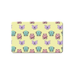 Animals Pastel Children Colorful Magnet (name Card)