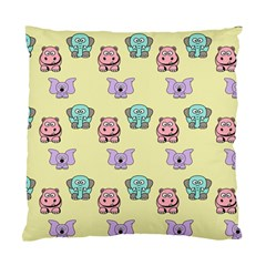 Animals Pastel Children Colorful Standard Cushion Case (two Sides)