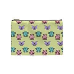 Animals Pastel Children Colorful Cosmetic Bag (medium)
