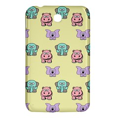 Animals Pastel Children Colorful Samsung Galaxy Tab 3 (7 ) P3200 Hardshell Case