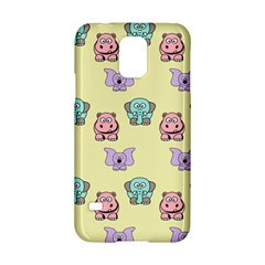 Animals Pastel Children Colorful Samsung Galaxy S5 Hardshell Case