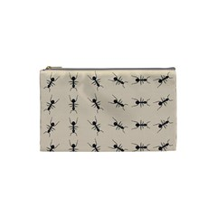 Ants Pattern Cosmetic Bag (small)