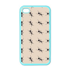 Ants Pattern Apple Iphone 4 Case (color)