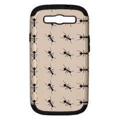 Ants Pattern Samsung Galaxy S Iii Hardshell Case (pc+silicone)
