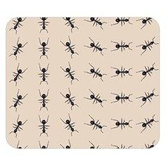 Ants Pattern Double Sided Flano Blanket (small)