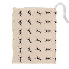 Ants Pattern Drawstring Pouches (xxl)