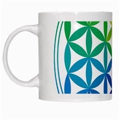 Heart Energy Medicine White Mugs