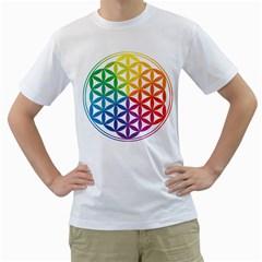 Heart Energy Medicine Men s T Shirt (white)