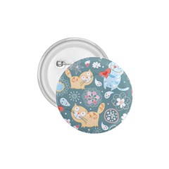 Cute Cat Background Pattern 1 75  Buttons