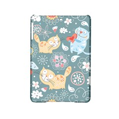 Cute Cat Background Pattern Ipad Mini 2 Hardshell Cases