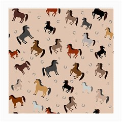 Horses For Courses Pattern Medium Glasses Cloth (2 Side)