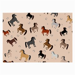 Horses For Courses Pattern Large Glasses Cloth (2 Side)