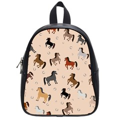Horses For Courses Pattern School Bags (small)