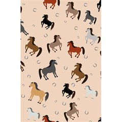 Horses For Courses Pattern 5 5  X 8 5  Notebooks