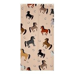 Horses For Courses Pattern Shower Curtain 36  X 72  (stall)