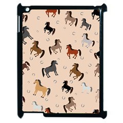 Horses For Courses Pattern Apple Ipad 2 Case (black)