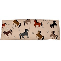 Horses For Courses Pattern Body Pillow Case Dakimakura (two Sides)