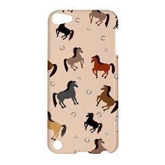 Horses For Courses Pattern Apple Ipod Touch 5 Hardshell Case