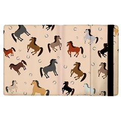 Horses For Courses Pattern Apple Ipad 2 Flip Case