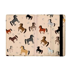 Horses For Courses Pattern Apple Ipad Mini Flip Case