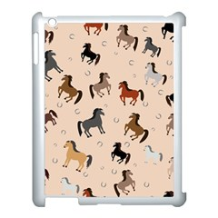 Horses For Courses Pattern Apple Ipad 3/4 Case (white)