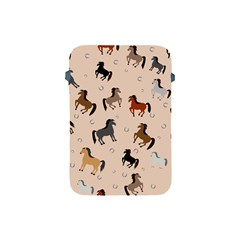 Horses For Courses Pattern Apple Ipad Mini Protective Soft Cases