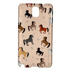 Horses For Courses Pattern Samsung Galaxy Note 3 N9005 Hardshell Case