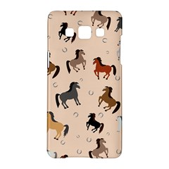Horses For Courses Pattern Samsung Galaxy A5 Hardshell Case