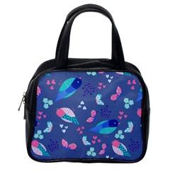 Birds And Butterflies Classic Handbags (one Side)