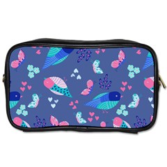 Birds And Butterflies Toiletries Bags 2 Side