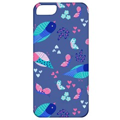Birds And Butterflies Apple Iphone 5 Classic Hardshell Case