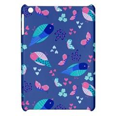 Birds And Butterflies Apple Ipad Mini Hardshell Case