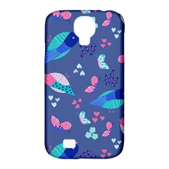Birds And Butterflies Samsung Galaxy S4 Classic Hardshell Case (pc+silicone)