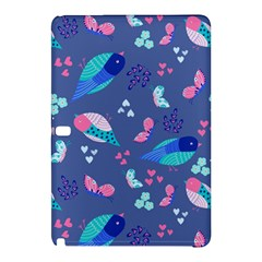 Birds And Butterflies Samsung Galaxy Tab Pro 12 2 Hardshell Case
