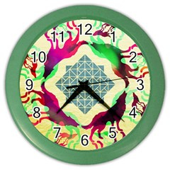 Several Wolves Album Color Wall Clocks