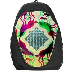 Several Wolves Album Backpack Bag