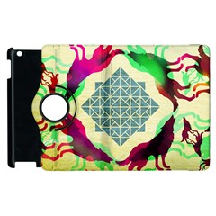 Several Wolves Album Apple Ipad 2 Flip 360 Case