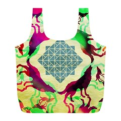 Several Wolves Album Full Print Recycle Bags (l)
