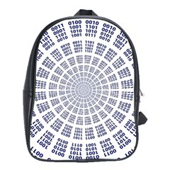 Illustration Binary Null One Figure Abstract School Bags(large)
