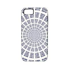 Illustration Binary Null One Figure Abstract Apple Iphone 5 Classic Hardshell Case (pc+silicone)