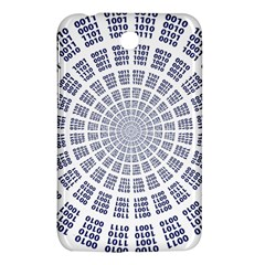 Illustration Binary Null One Figure Abstract Samsung Galaxy Tab 3 (7 ) P3200 Hardshell Case