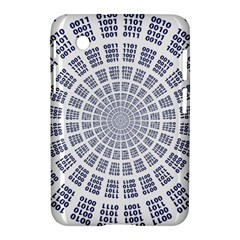 Illustration Binary Null One Figure Abstract Samsung Galaxy Tab 2 (7 ) P3100 Hardshell Case