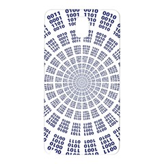 Illustration Binary Null One Figure Abstract Samsung Galaxy Note 3 N9005 Hardshell Back Case