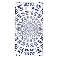 Illustration Binary Null One Figure Abstract Galaxy Note 4 Back Case