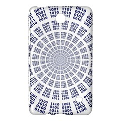 Illustration Binary Null One Figure Abstract Samsung Galaxy Tab 4 (8 ) Hardshell Case
